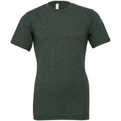 textil T-shirts m. korte ærmer Bella + Canvas CVC3001 Heather Forest Green