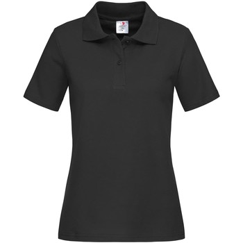 textil Dame T-shirts & poloer Stedman  Black Opal