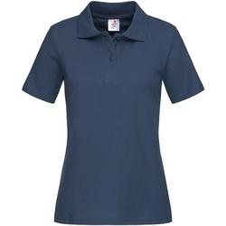 textil Dame T-shirts & poloer Stedman  Navy