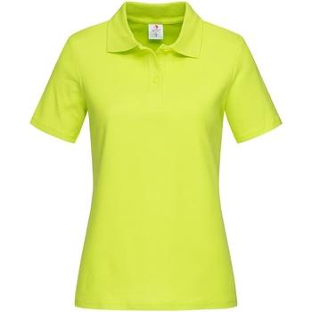 textil Dame T-shirts & poloer Stedman  Bright Lime