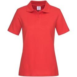 textil Dame T-shirts & poloer Stedman  Scarlet Red
