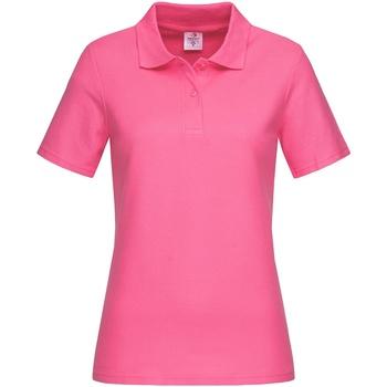 textil Dame T-shirts & poloer Stedman  Sweet Pink