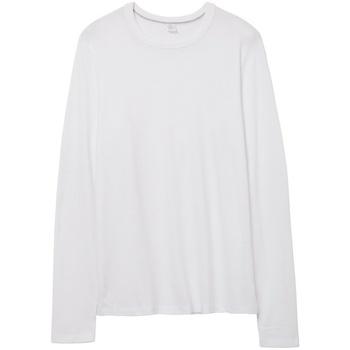 textil Langærmede T-shirts Alternative Apparel AT014 White