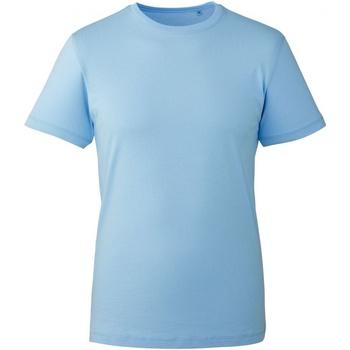 textil Herre T-shirts m. korte ærmer Anthem AM010 Light Blue