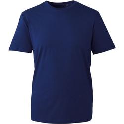 textil Herre T-shirts m. korte ærmer Anthem AM010 Navy