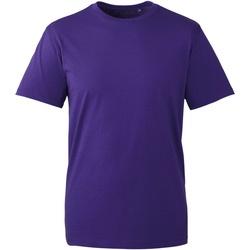 textil Herre T-shirts m. korte ærmer Anthem AM010 Purple