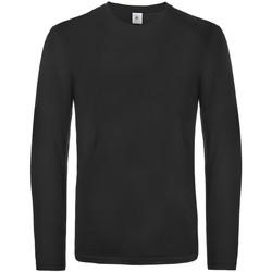textil Herre Langærmede T-shirts B And C TU07T Black
