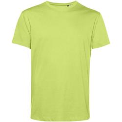 textil Herre T-shirts m. korte ærmer B&c TU01B Lime