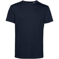 textil Herre T-shirts m. korte ærmer B&c TU01B Navy Blue