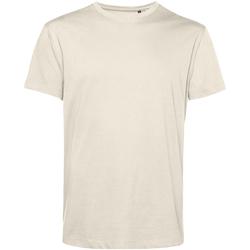 textil Herre T-shirts m. korte ærmer B&c TU01B Off White