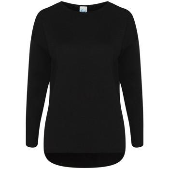 textil Dame Sweatshirts Comfy Co CC065 Black