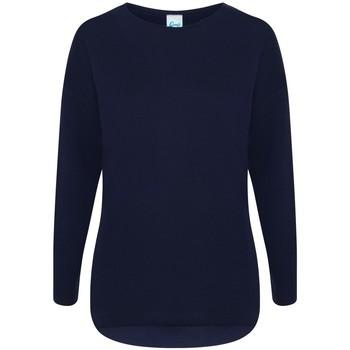 textil Dame Sweatshirts Comfy Co CC065 Navy
