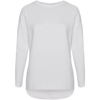 textil Dame Sweatshirts Comfy Co CC065 White