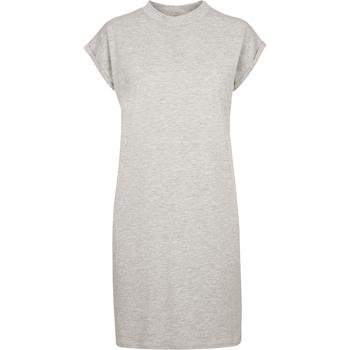 textil Dame Korte kjoler Build Your Brand BY101 Grey Heather
