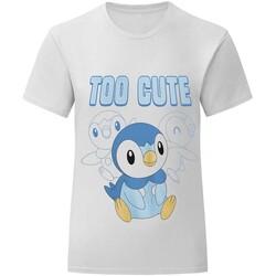 textil Børn T-shirts m. korte ærmer Pokemon  White
