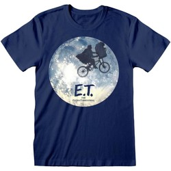 textil T-shirts m. korte ærmer E.t. The Extra-Terrestrial  Blue