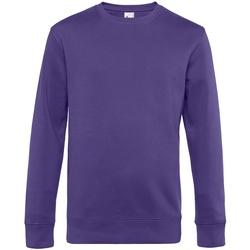 textil Herre Sweatshirts B&c WU01K Radiant Purple