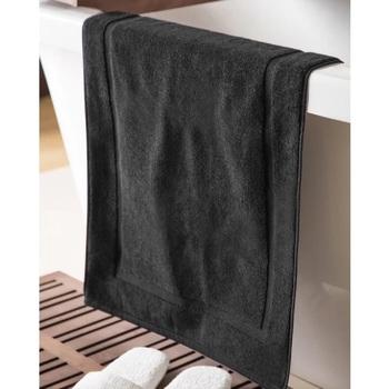 Indretning Tæppe til badeværelset Belledorm Taille unique Black
