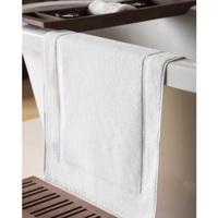 Indretning Tæppe til badeværelset Belledorm Taille unique White