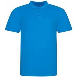 textil Herre Polo-t-shirts m. korte ærmer Awdis JP100 Azure