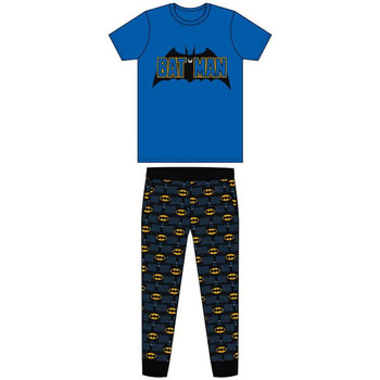 textil Herre Pyjamas / Natskjorte Dessins Animés  Blue/Black