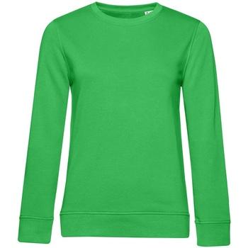 textil Dame Sweatshirts B&c WW32B Apple Green