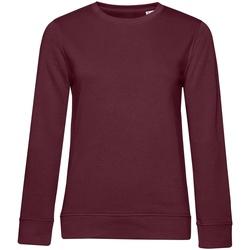 textil Dame Sweatshirts B&c WW32B Burgundy