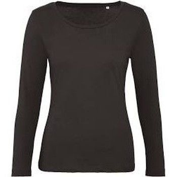 textil Dame Sweatshirts B&c WW32B Coffee