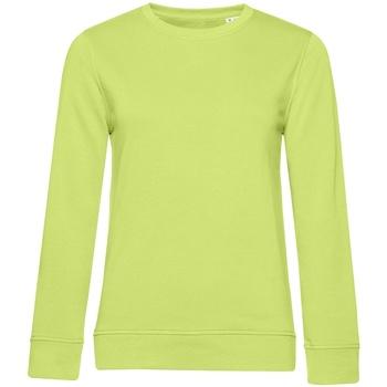textil Dame Sweatshirts B&c WW32B Lime Green