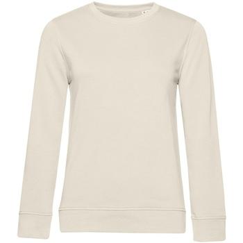 textil Dame Sweatshirts B&c WW32B Off White