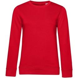 textil Dame Sweatshirts B&c WW32B Red