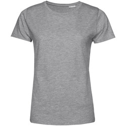 textil Dame T-shirts m. korte ærmer B&c TW02B Grey Heather