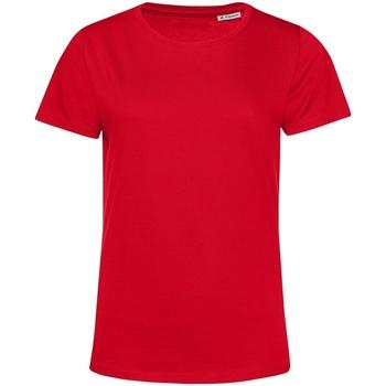 textil Dame T-shirts m. korte ærmer B&c TW02B Red