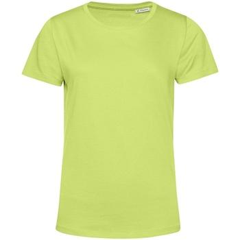 textil Dame T-shirts m. korte ærmer B&c TW02B Lime Green