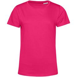 textil Dame T-shirts m. korte ærmer B&c TW02B Magenta