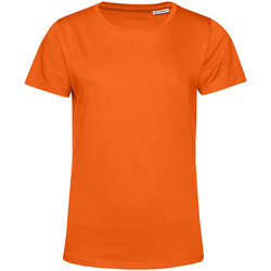 textil Dame T-shirts m. korte ærmer B&c TW02B Orange