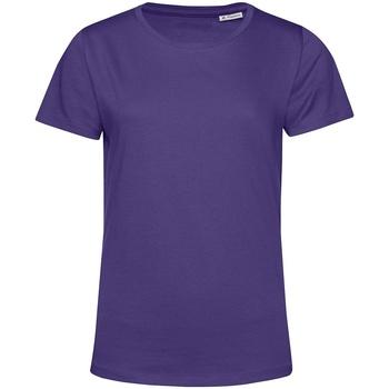 textil Dame T-shirts m. korte ærmer B&c TW02B Radiant Purple