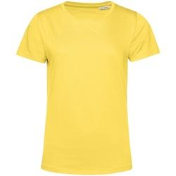 textil Dame T-shirts m. korte ærmer B&c TW02B Yellow