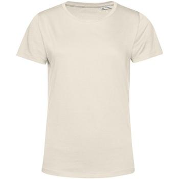 textil Dame T-shirts m. korte ærmer B&c TW02B Off White