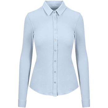 textil Dame Skjorter / Skjortebluser Awdis SD047 Blue