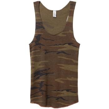 textil Dame Toppe / T-shirts uden ærmer Alternative Apparel AT003 Camo