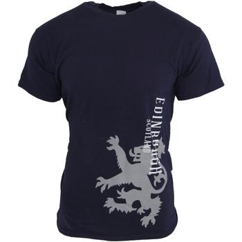 textil Herre T-shirts m. korte ærmer Universal Textiles  NAVY