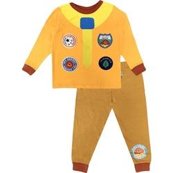 textil Dreng Pyjamas / Natskjorte Hey Duggee  Mustard Yellow
