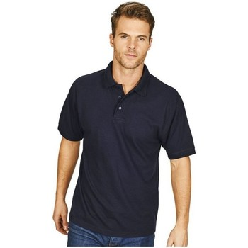 textil Herre Polo-t-shirts m. korte ærmer Casual Classics  Navy