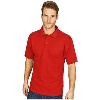 textil Herre Polo-t-shirts m. korte ærmer Casual Classics  Red