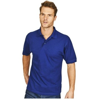 textil Herre Polo-t-shirts m. korte ærmer Casual Classics  Royal