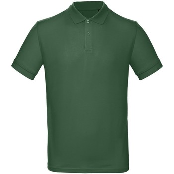 textil Herre Polo-t-shirts m. korte ærmer B And C PM430 Bottle Green