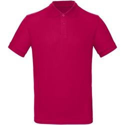 textil Herre Polo-t-shirts m. korte ærmer B And C PM430 Sorbet
