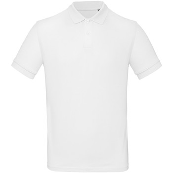 textil Herre Polo-t-shirts m. korte ærmer B And C PM430 White