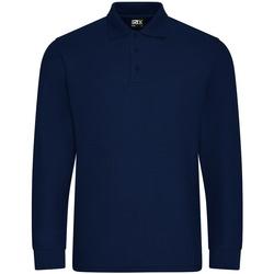 textil Herre Polo-t-shirts m. lange ærmer Pro Rtx  Navy
